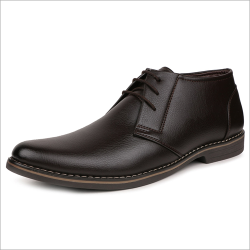 Mens Brown Leather Formal Shoes