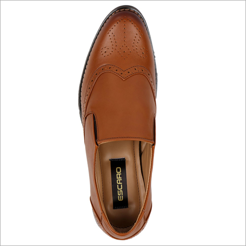 Tan Soft Leather Formal Shoes