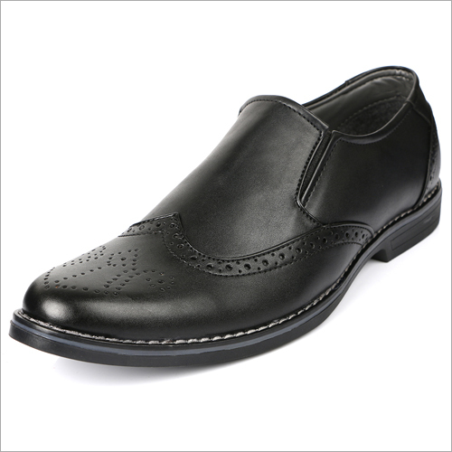 Brogue Formal Slip On Shoes