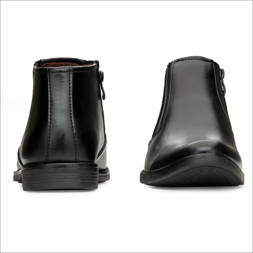 High Ankle Leather Formal Shoes