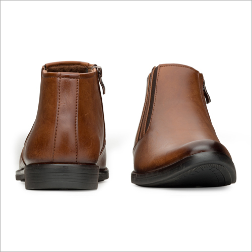 Mens Tan Formal Shoes With High Ankle