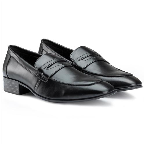 Office Black Slip On Formal Shoes