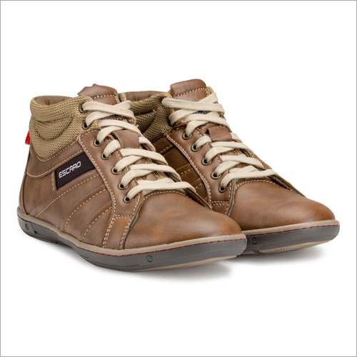 Brown Ankle Length Sneakers Shoes