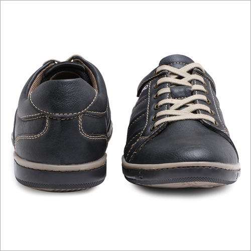 Mens Black Sneakers Shoes