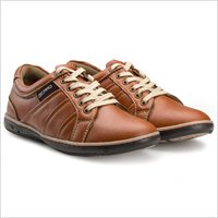 Mens Tan Sneakers Shoes
