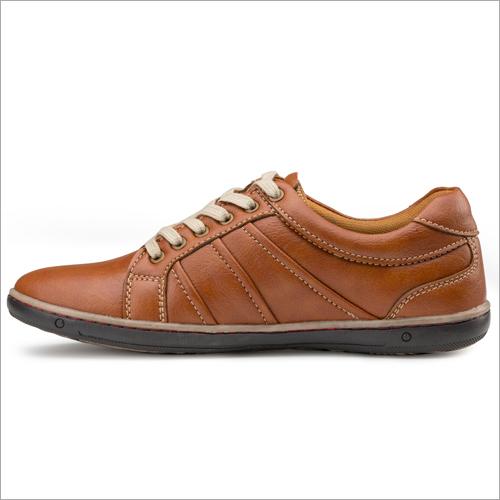 Mens Tan Sneakers Shoes