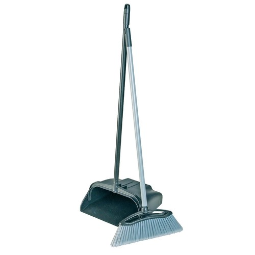 Lobby Dustpan With Brush