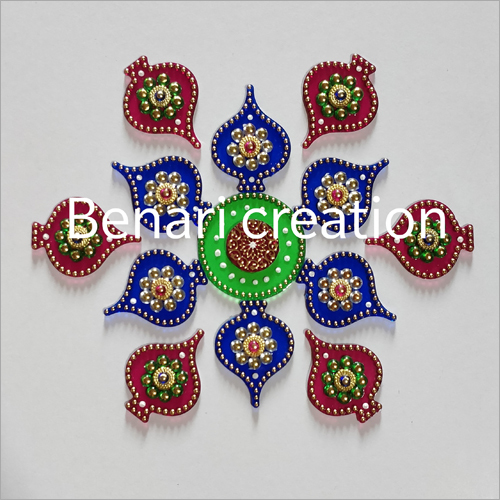 Wall Decoartion Acrylic Rangoli