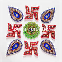 Puja Decoration Acrylic Rangoli