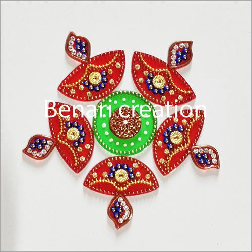 Handmade Acrylic Rangoli