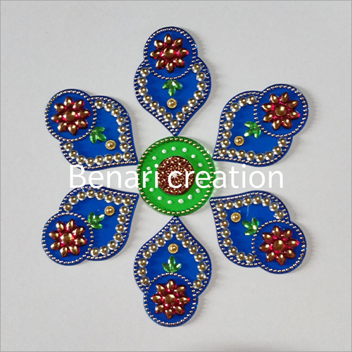 Handmade Designer Acrylic Rangoli