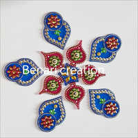 Wedding Decoration Acrylic Rangoli