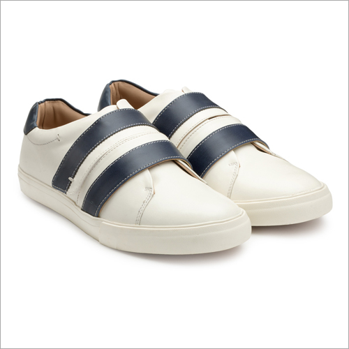 Mens Blue And White Sneakers