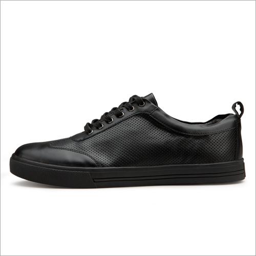 Mens Black Casual Sneakers