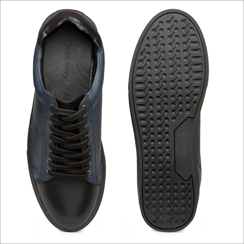 Mens Blue And Grey Sneakers Shoes