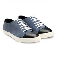 Mens Blue And Black Sneakers Shoes