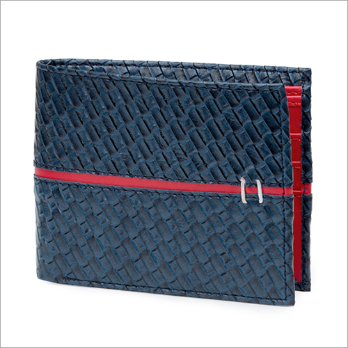 Mens Blue Wallet