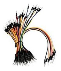 Solder-less Flexible Breadboard Jumper Wires M/m