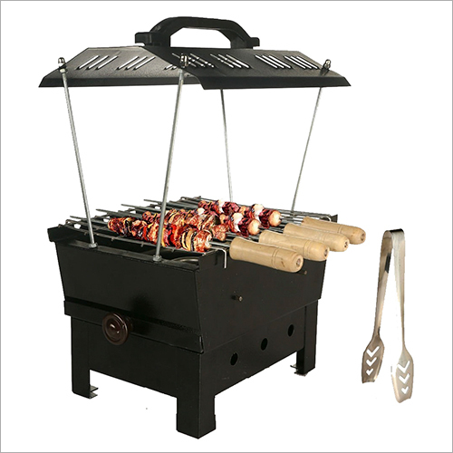 2 In 1 Charcoal and Electric Barbecue