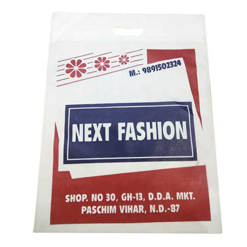 Printed D Cut Bag