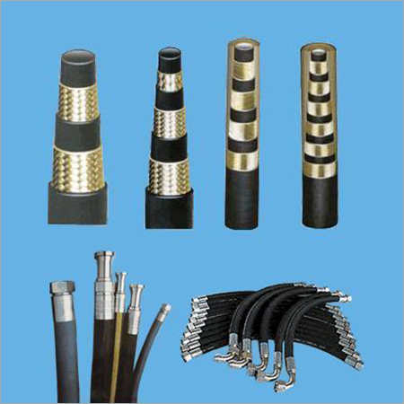 Hydraulic High Pressure Rubber Hose Pipe