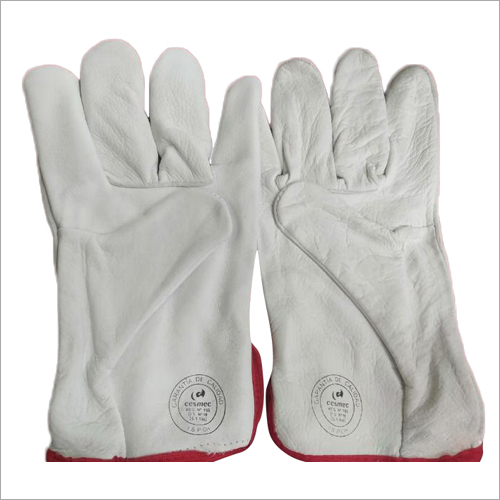 Chrome Lather Driving Hand Gloves