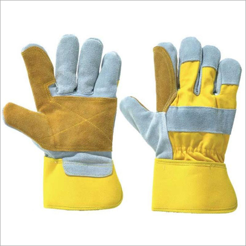 Split Canadian Double Palm  Hand Gloves