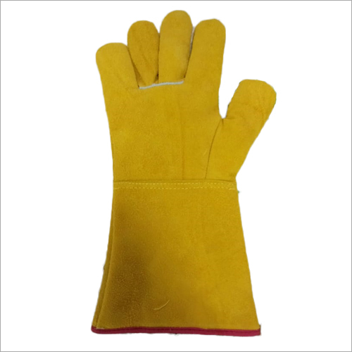 Reversable Leather Wintrer Hand Gloves