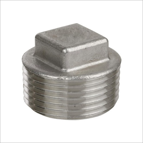 Stainless Steel Pipe Square Head Plug