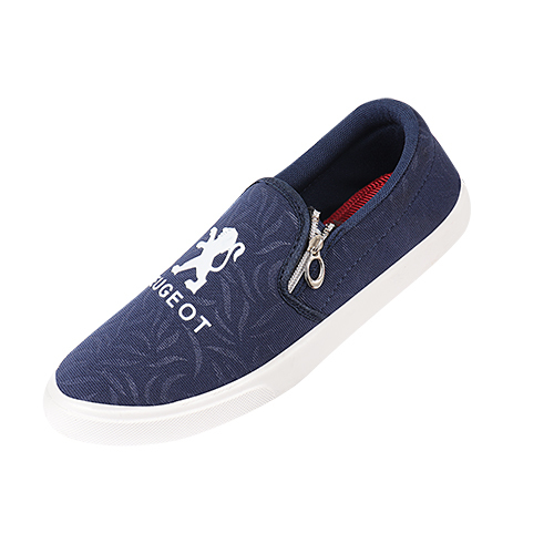 Casual Navy Blue Shoes