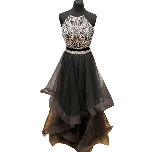 Ladies Beaded Gown
