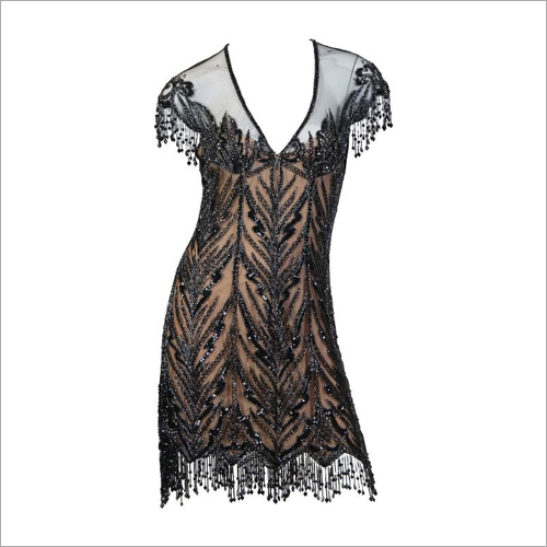 Ladies Net One Piece Dress