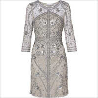 Ladies Sequin One Piece Dress
