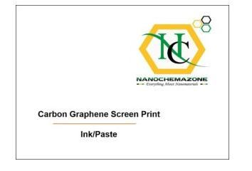 Carbon Graphene Screen Print Ink Paste