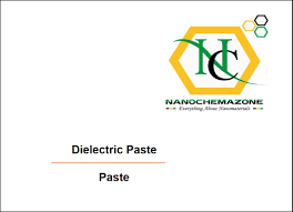 Dielectric Paste for Screen Printing Electrode