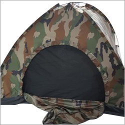 Camouflage Print Army Tent