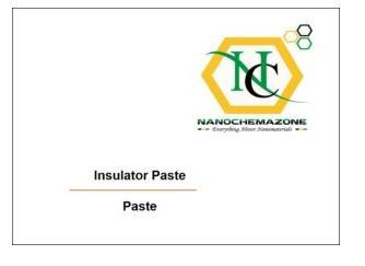 Insulating Paste for Screen Printing