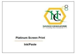 Platinum Paste Screen Print Ink
