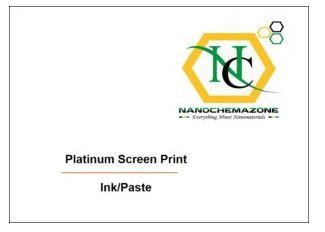 Platinum Paste Screen Print Ink