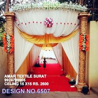 ENTRY GATE CLOTH FOR FUNCTION