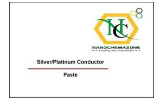 Silver Platinum Conductor Paste