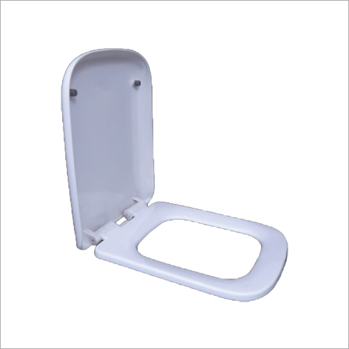 Hydraulic White Toilet Seat Cover