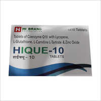 Hique 10 Tablets