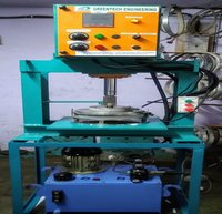 Hydraulic Single Die Thali Making Machine