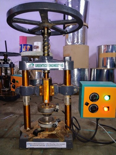 Hand Operated Paper Plate Making Machine