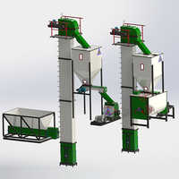 5 Tons-Hr to 8 Tons-Hr Feed Mill Plant