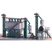 10 Tons-Hr to 12 Tons-Hr Feed Mill Plant with Auto Batching