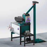 1 Tons-Hr To 3 Tons-Hr Smart Feed Mill Plant