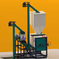 1 Tons-Hr to 5 Tons-Hr Smart Feed Mill Plant