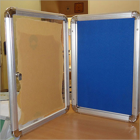 Acrylic Cover Notice board